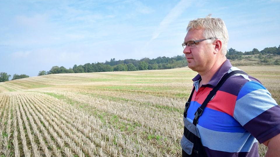 Peter Tegllund søgte i 2016 om tilladelse til at grave sand i et område, der er udpeget til det i regionens råstofplan. Foto: Kim Dahl Hansen