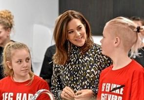 Kronprinsesse Mary besøger julemærkehjem