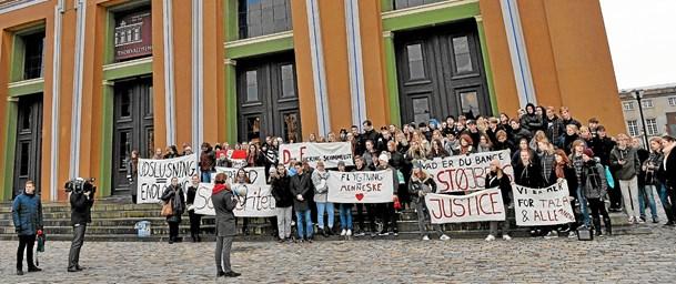 Protest og kultur gik hånd i hånd