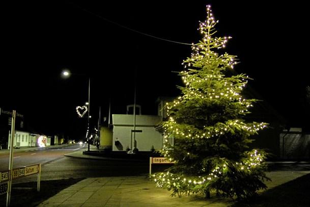 Ny julebelysning i V. Hjermitslev