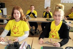 Verdensnyhed på Skolecenter Jetsmark