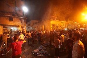 Selvmordsbomber dræber 14 uden for moské i syriske Azaz