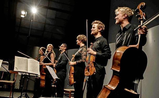 Klassiske toner på Nordsøen Oceanarium