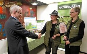 """Årets Miljøpris i Mariagerfjord gik til """"Naturluppen"""""""