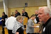 132 til senior-stævne i Hadsund Hallerne