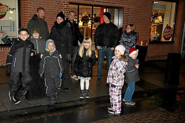 Vi venter på julemanden. Foto: Flemming Dahl Jensen Flemming Dahl Jensen