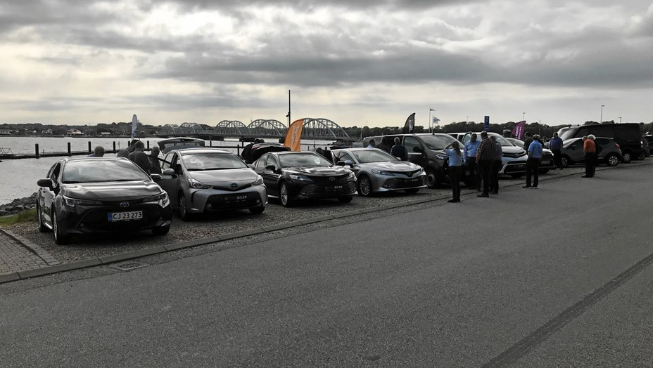 Populært arrangement hos Toyota MTH Biler