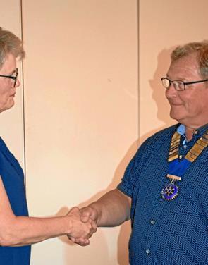 Ny præsident i Dronninglund Rotary Klub