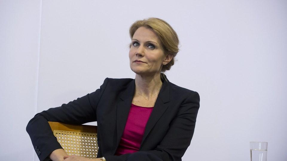 Statsminister Helle Thorning-Schmidt (S) må konstatere, at den nye meningsmåling langt fra er som ønsket. Foto: Scanpix