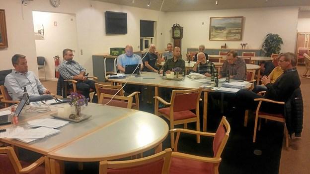 Møde i bestyrelsen for Samrådet Østkysten, hvor aktivitetsplanen blev vedtaget. Privatfoto