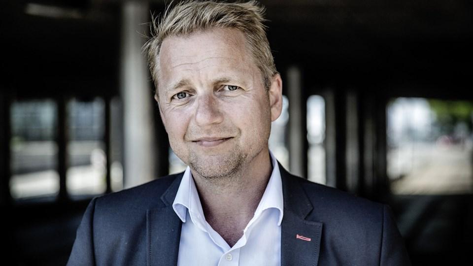Regionsrådspolitiker Martin Geertsen (V) afløser Søren Pind i Folketinget. De to har kendt hinanden siden 1990'erne, hvor Geertsen var med til at få Pind valgt til Københavns Borgerrepræsentation. Foto: Scanpix/Thomas Lekfeldt/arkiv