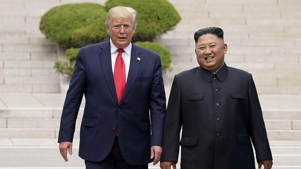 USA's præsident, Donald Trump, og Nordkoreas leder, Kim Jong-un, mødtes i weekenden i den demilitariserede zone mellem Nord- og Sydkorea.
