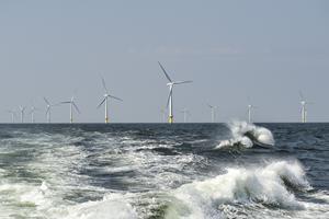 Ny rekord: Blæsevejret søndag satte fuld fart på vindmøller