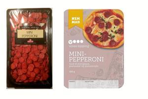 Har fundet metalstykker i mini-pepperonier