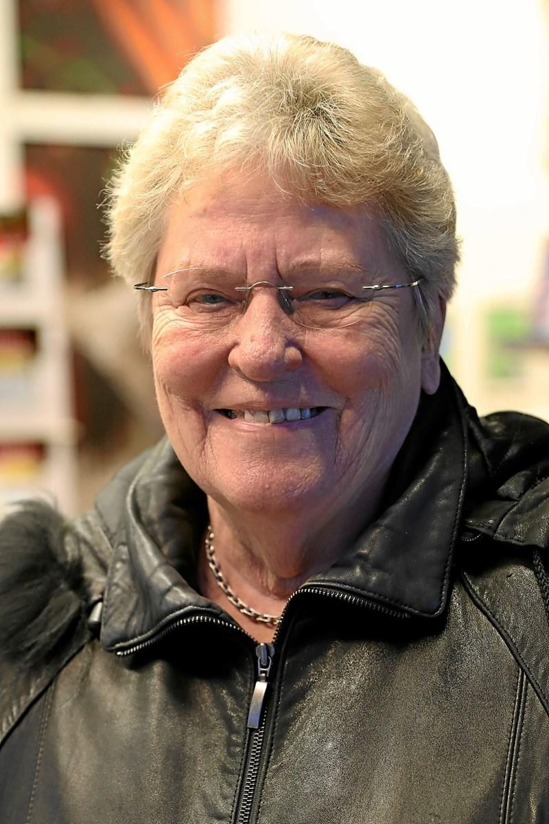 Ellen Jensen: Det kan godt være. Men det bliver ikke i Aalborg. Der er for mange mennesker. Så foretrækker jeg de lokale butikker. Foto: Allan Mortensen Allan Mortensen