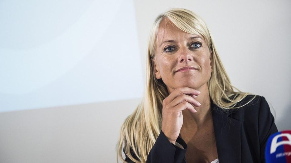 Det lykkedes ikke Pernille Vermund og partiet Nye Borgerlige at blive opstillingsberettiget til valget til Europa-Parlamentet. (Arkivfoto).