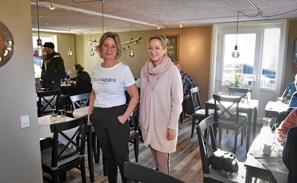 Fuld fart på Hawgus' nye inde-restaurant