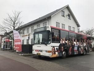 Så er NORDJYSKE bussen i Hjallerup