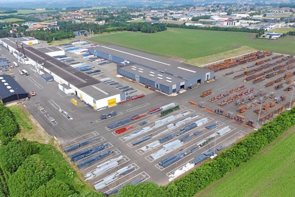 DS Gruppen er en markant virksomhed i Hobro. Foto: DS Gruppen DS Gruppen