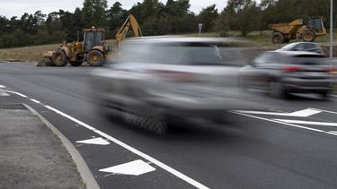 Egnsplanvej endelig færdig - næste udfordring på ny vej er fartmonsteret