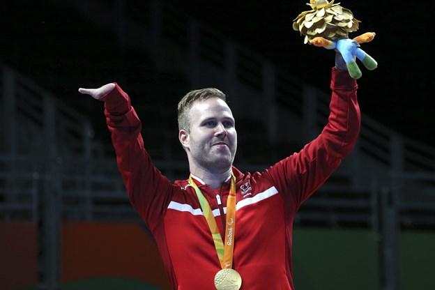 Peter Rosenmeier tog guld ved VM, ligesom han gjorde ved OL for to år siden, hvor dette billede stammer fra. Sergio Moraes/arkiv/Reuters