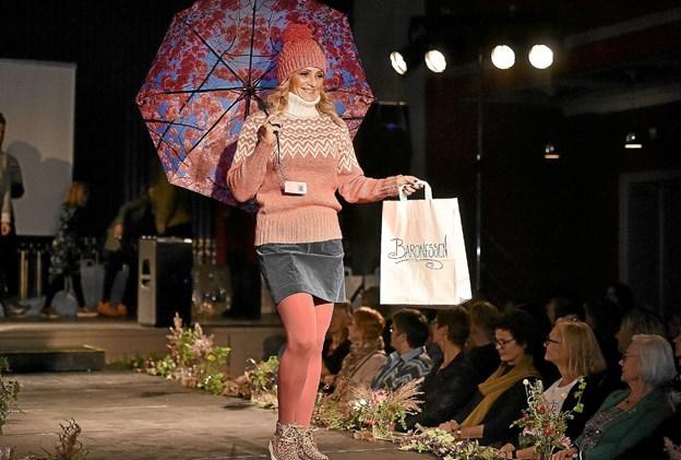 Årets Fashion Night: med tøj fra Baronessen, Sebedeje, Butik Unik, hår sat af SOHO og briller fra Brillehuset. Foto: Ole Iversen