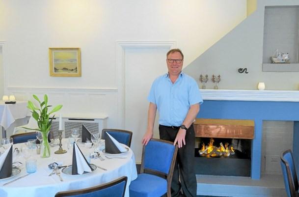 Renoveret: Der er igen klar til selskaber i badehotellets sal