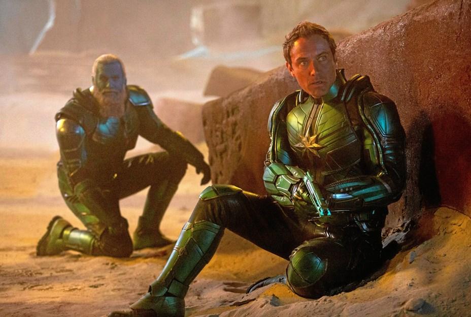 Ny heltinde som Captain Marvel