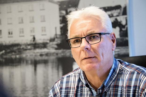 Finn Jenne er ny formand for EUC Nord. Foto: Peter Broen