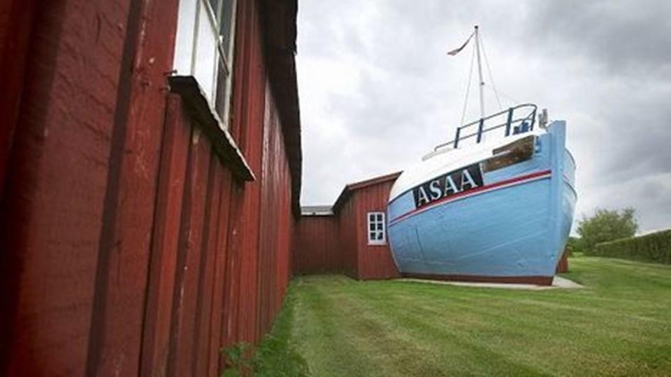 Fremtiden for Asaa havn har været drøftet længe - nu betaler Dronninglund Kommune eksterne konsulenter for at udarbejde færdige planer for området. Arkivfoto: Peter Broen