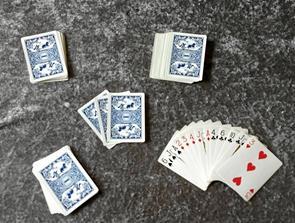 Kortklub på vej i Valsgaard