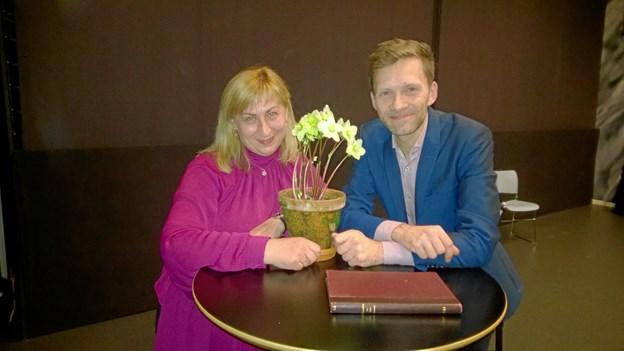Irina Stetsun Thomsen og Per Iversen.Privatfoto