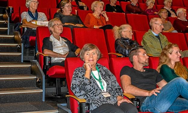 Første gang Folkeuniversitetet holder noget på en lørdag eftermiddag. Foto: Mogens Lynge