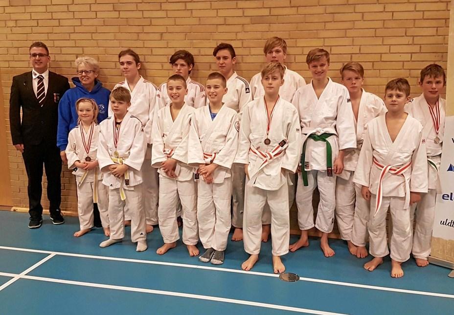 Ørsø Judoklub til ungdomsturnering
