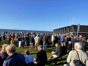 Fællessang på Nordremole i Øster Hurup