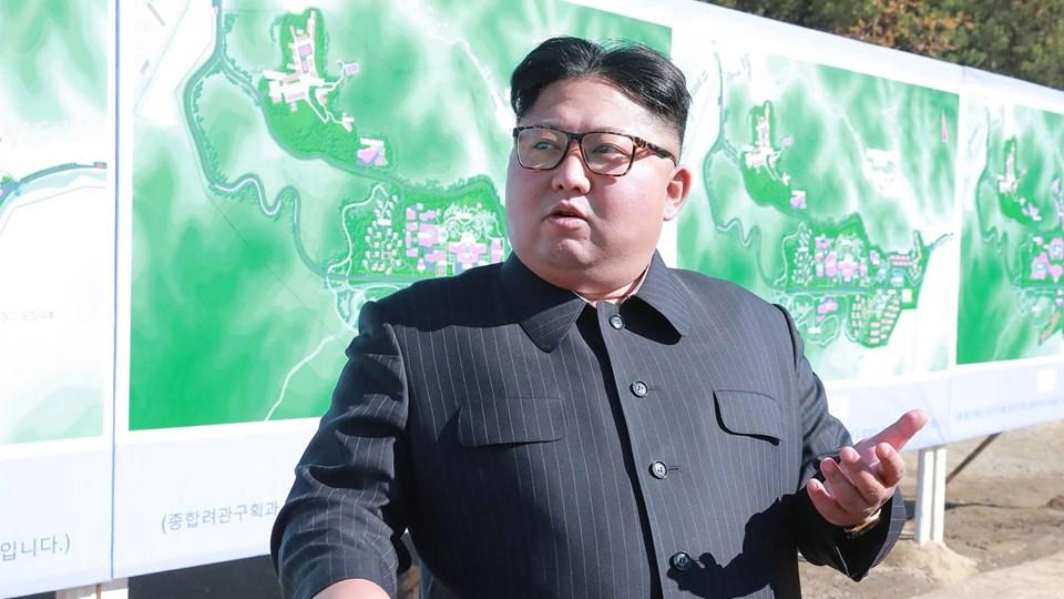 Der har længe været talt om, at Nordkoreas leder, Kim Jong-Un (foto), skulle komme på besøg i Seoul. Ifølge Sydkoreas præsident bliver den historiske begivenhed snart en realitet. (Arkiv).