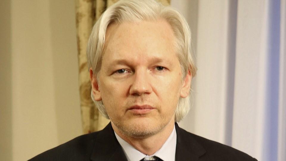 WikiLeaks hylder sig selv som lækage-pionerer på tiårsdag Sunshine Press Productions photo of WikiLeaks publisher and editor-in-chief Julian Assange in London, Barack Obama Foto: Scanpix/Handout