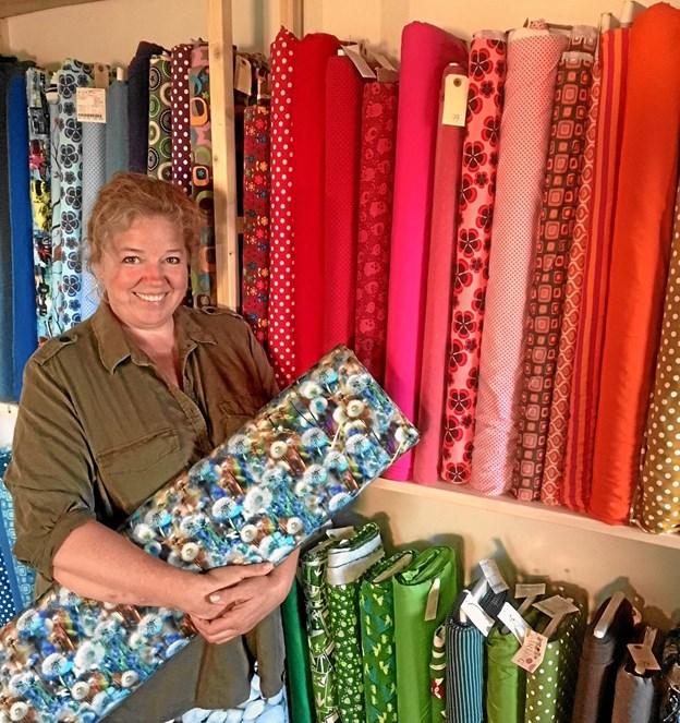 De første 25 kunder hos Lene Bek Nielsen får en tre meter lang gave.Privatfoto