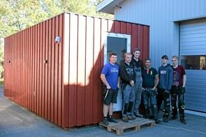 Ny sauna er på vej til 'De Blå Næser'