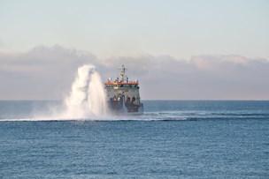 Sand for millioner fra Hirtshals Havn bliver smidt væk på dybt vand
