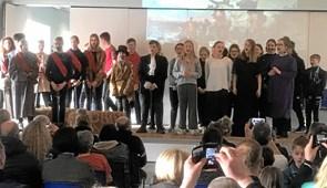 Opera gjorde indtryk på Fjerritslev Skole
