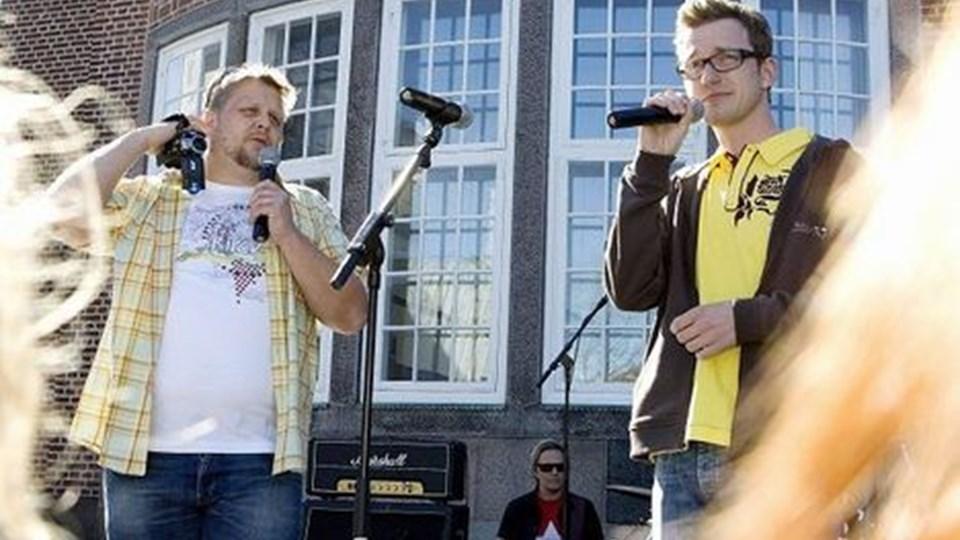 Skovmand og Bue bliver en del af den nye radiokanal, ANR. Foto: Grete Dahl