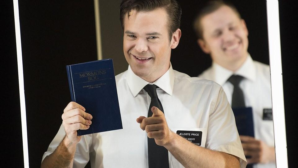 """Silas Holst har kæmpet for at blive klar til rollen i musicalen """"The Book of Mormon"""". Foto: Scanpix/Nils Meilvang"""