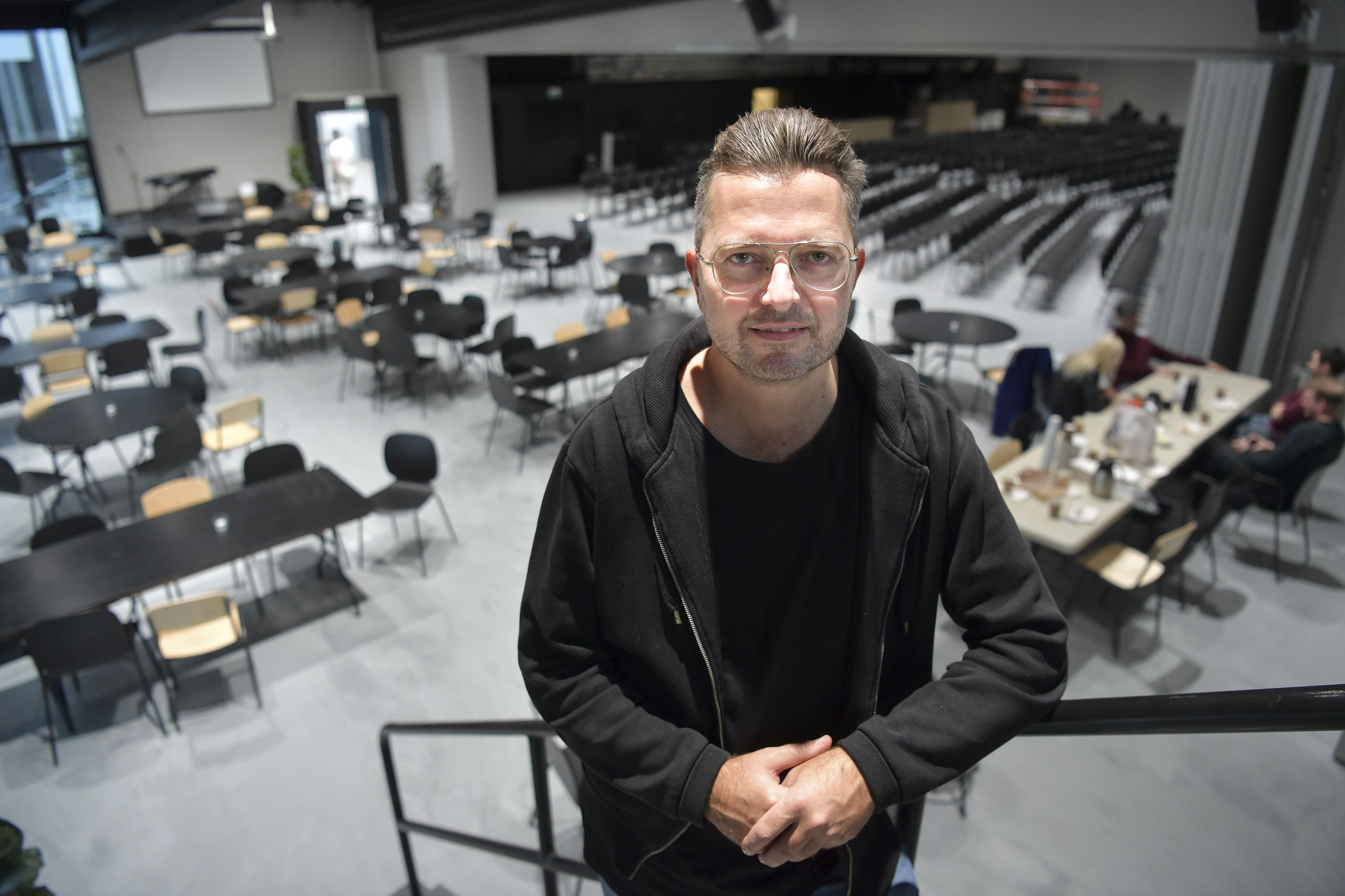 - A2 er det eneste store kulturhus i sydbyen, og vi håber, at Aalborg vil tage godt imod os, siger Dan S. Jacobi, som er præst i Aalborg Citykirke. Foto: Claus Søndberg