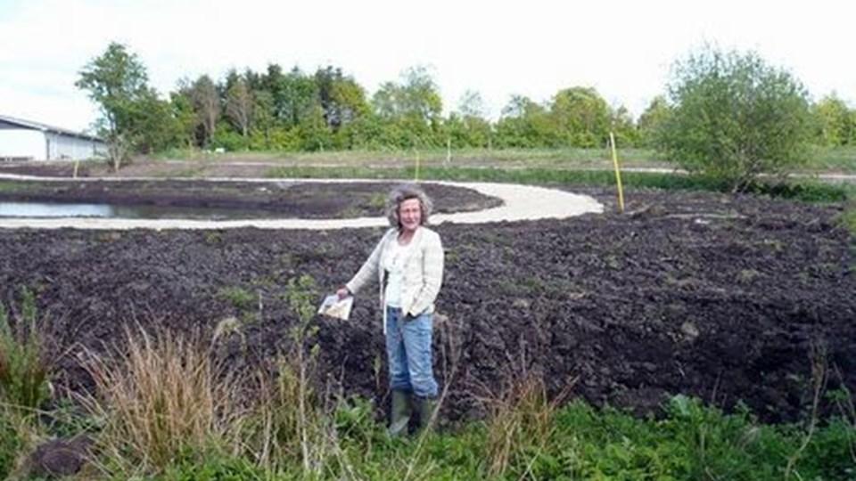 Den opgravede jord skal blive liggende, hvor den ligger. Arkivfoto