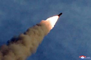 Nordkorea testaffyrer raket - formentlig fra en ubåd