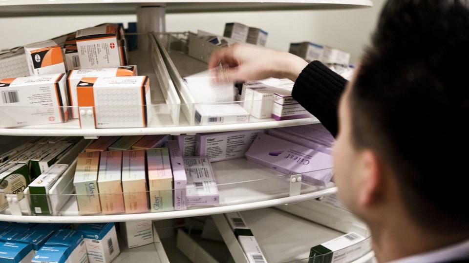 Region Midtjylland har udsigt til besparelser for op mod 295 millioner kroner næste år som følge af stigende udgifter til nye typer medicin og flere behandlingskrævende ældre. Foto: Scanpix/Jonas Vandall Ørtvig/arkiv
