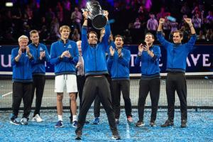 Federer og Zverev sikrer Europa sejren over verdensholdet