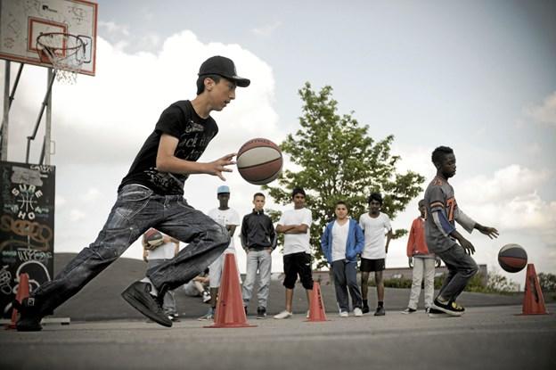 Idrætsformand om gadeidræt til de unge: Jeg ville vælge streetbasket