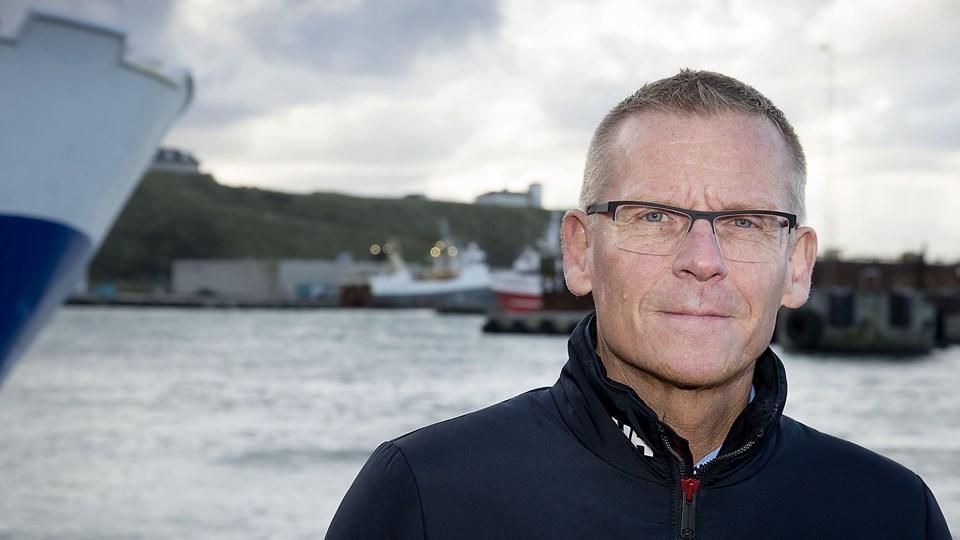 Hanstholm Havns direktør Niels Clemsen: - Forbrugerne efterspørger i stigende grad fisk, der er fanget og behandlet efter bæredygtige principper. Den efterspørgsel skal vi være klar til at imødekomme